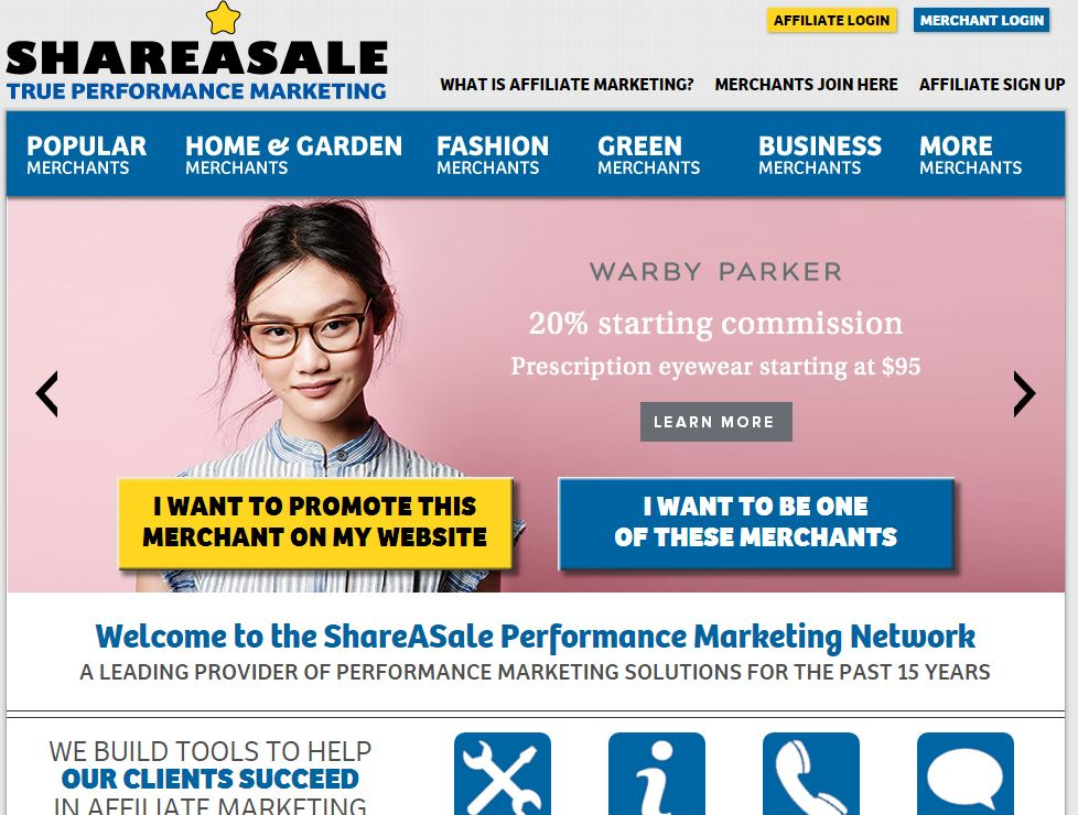 shareasale website