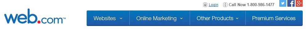 web.com pricing cxhart