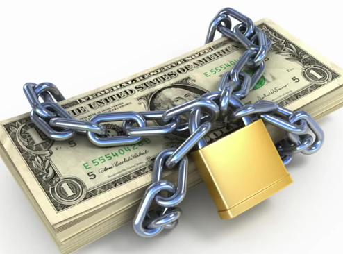lock and money